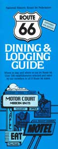Route 66 Dining & Lodging Guide – 9th edition