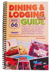 Route 66 Dining & Lodging Guide – 16th Edition