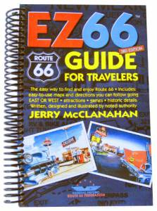 Route 66: EZ66 Guide for Travelers – 3rd edition