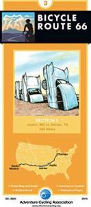 Bicycle Route 66 Map #3: Joplin, MO – Adrian, TX