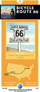 Bicycle Route 66 Map #6: Oatman, AZ – Santa Monica, CA