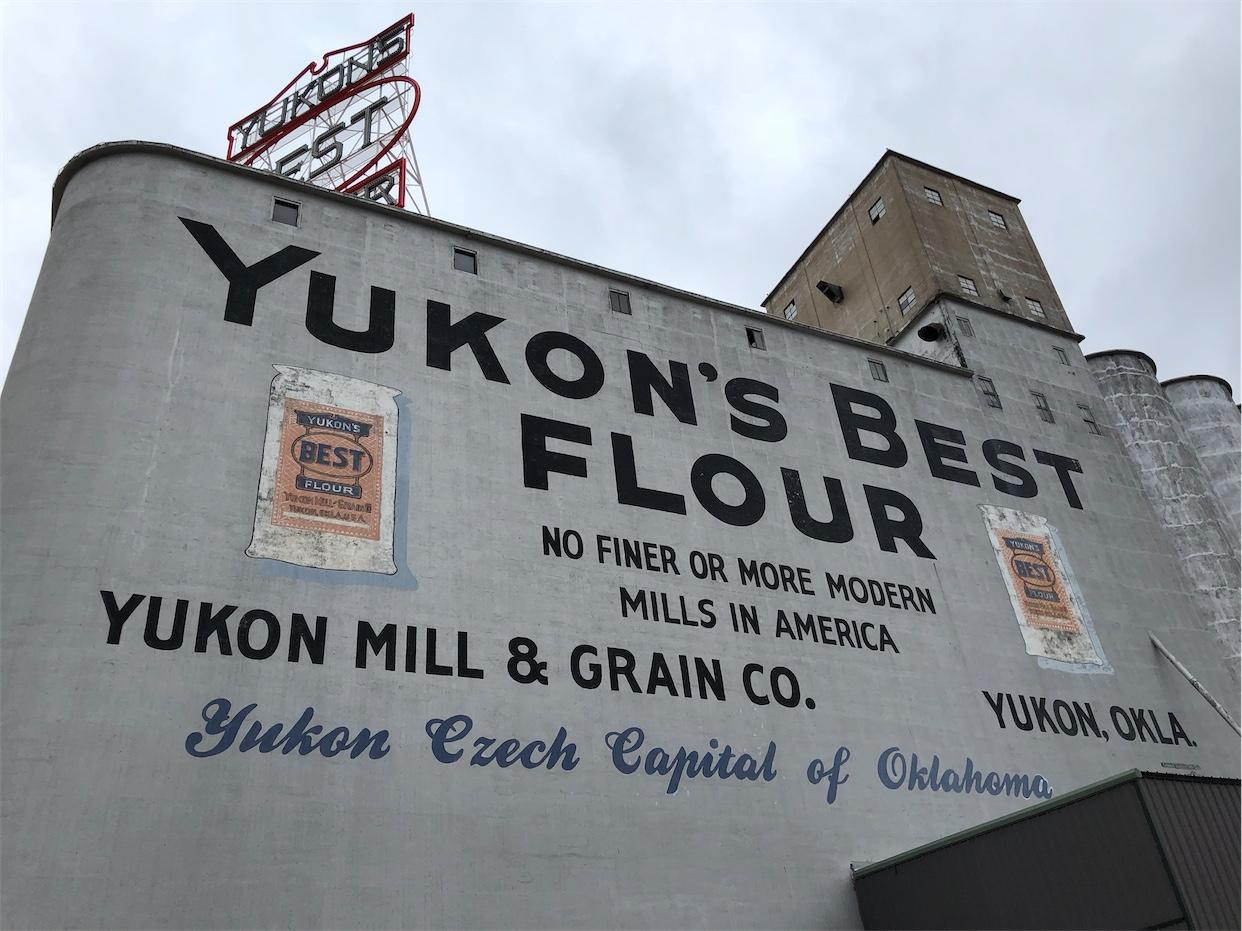 Yukon's Best Flour Sign