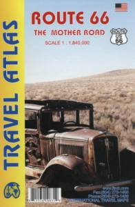 Route 66 – Travel Atlas – The Mother Road – Scale 1:1,840,000