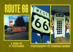 Route 66: A Book of 21 Postcards