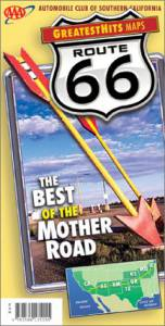 2001 Route 66 Greatest Hits Map