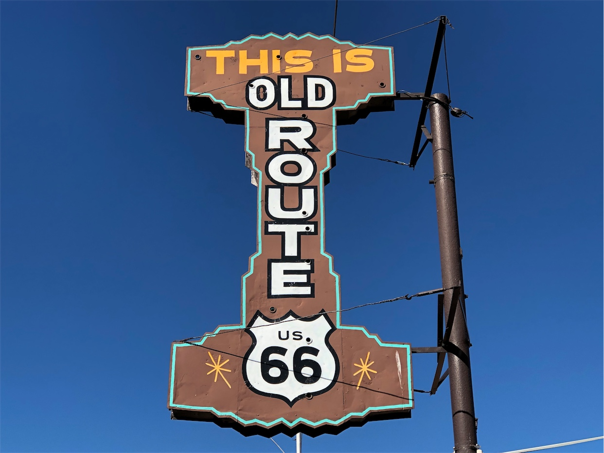 This Is Route 66 Sign