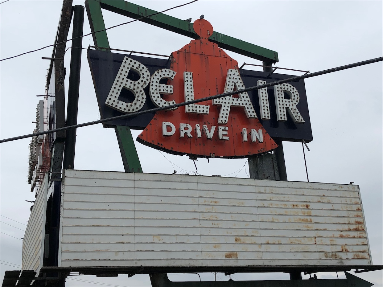 Bel-Air Drive In Sign