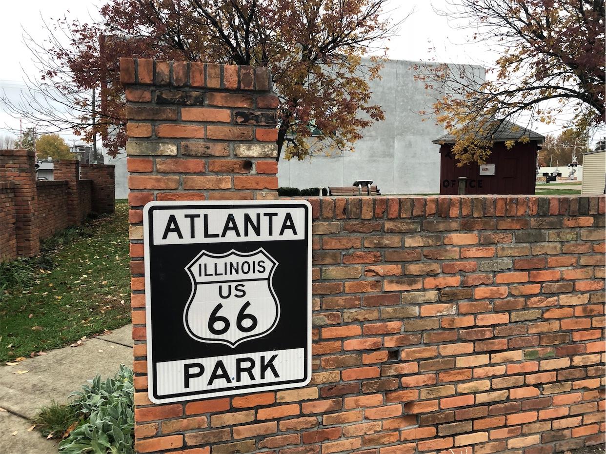 Route 66 Park & murals