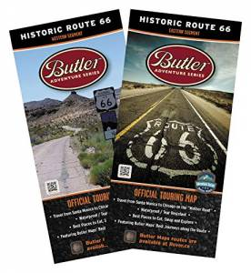 Butler Historic Route 66 Map Set