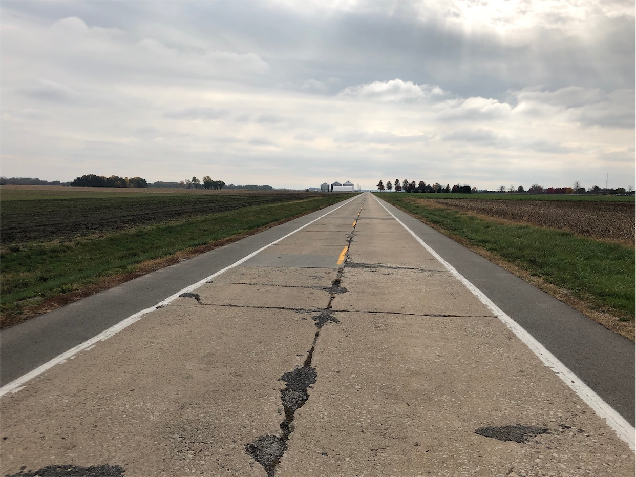 Old Route 66 Alignment