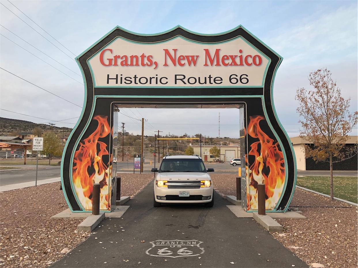 Route 66 Neon Drive Thru