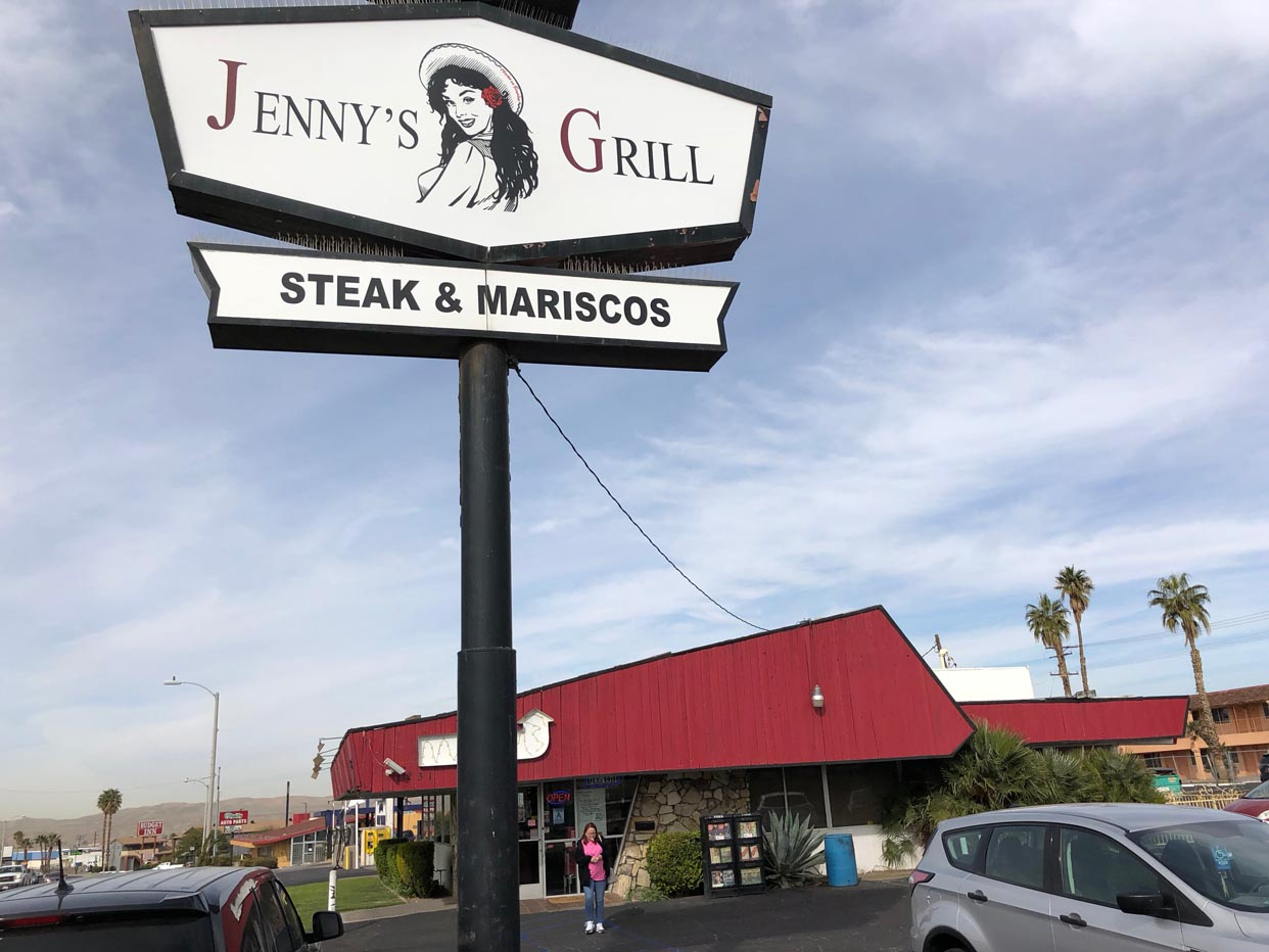 Jenny's Mexican Grill Steak & Mariscos