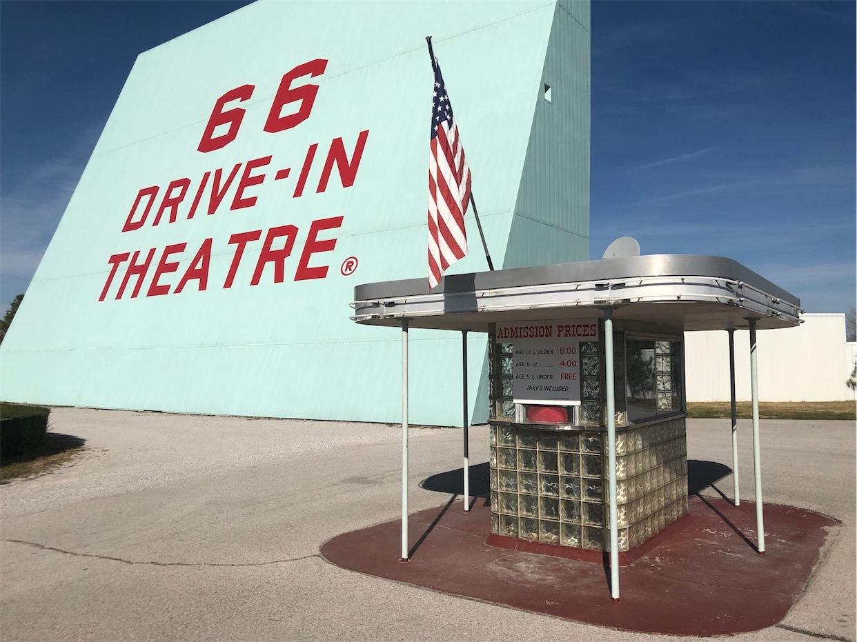 66 Drive-In Theatree